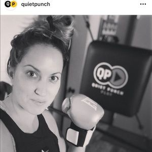 QuietPunch Quiet Punch Boxing Punching Bag Gloves